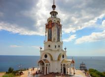 Храм-маяк Святого Николая Чудотворца, п. Малореченское