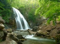 Водопад Джур-Джур, Большая Алушта