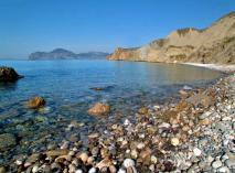 Восточный Крым, пляж